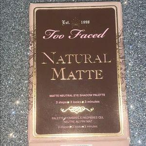 TOO FACED (natural matte palette)